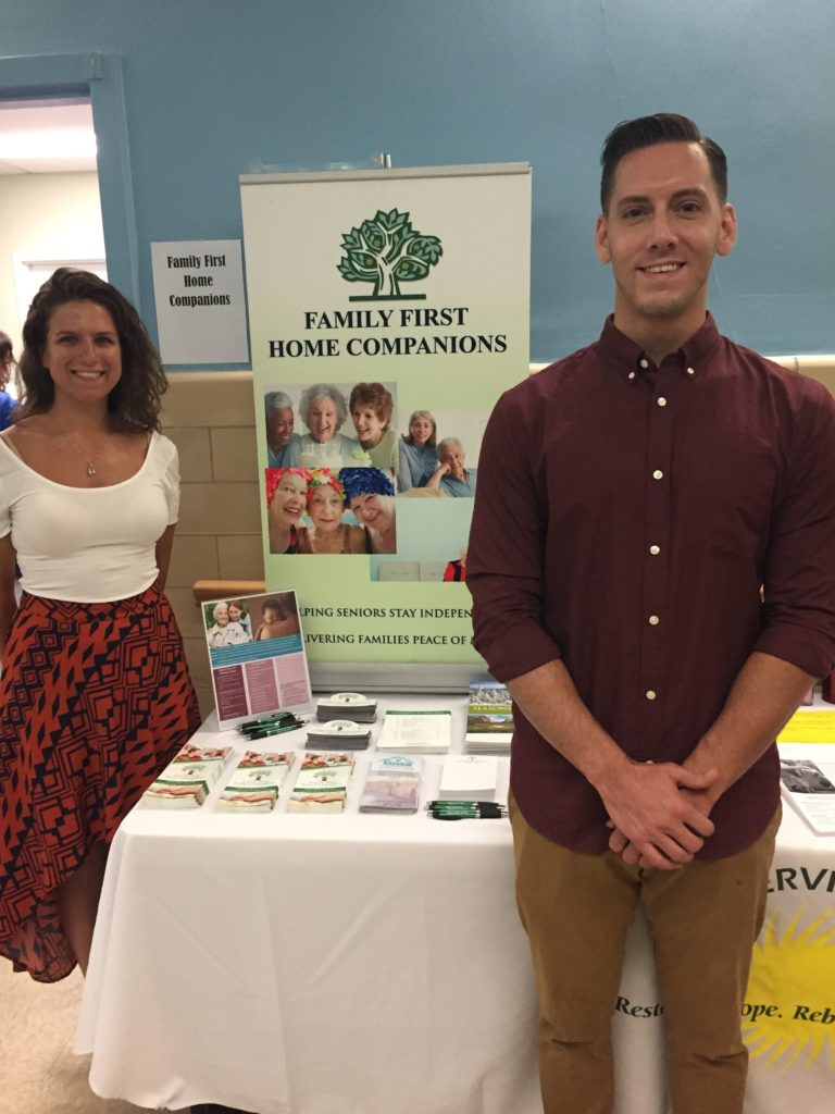 Family First Participates in Annual Health Fair at Huntington Senior Center